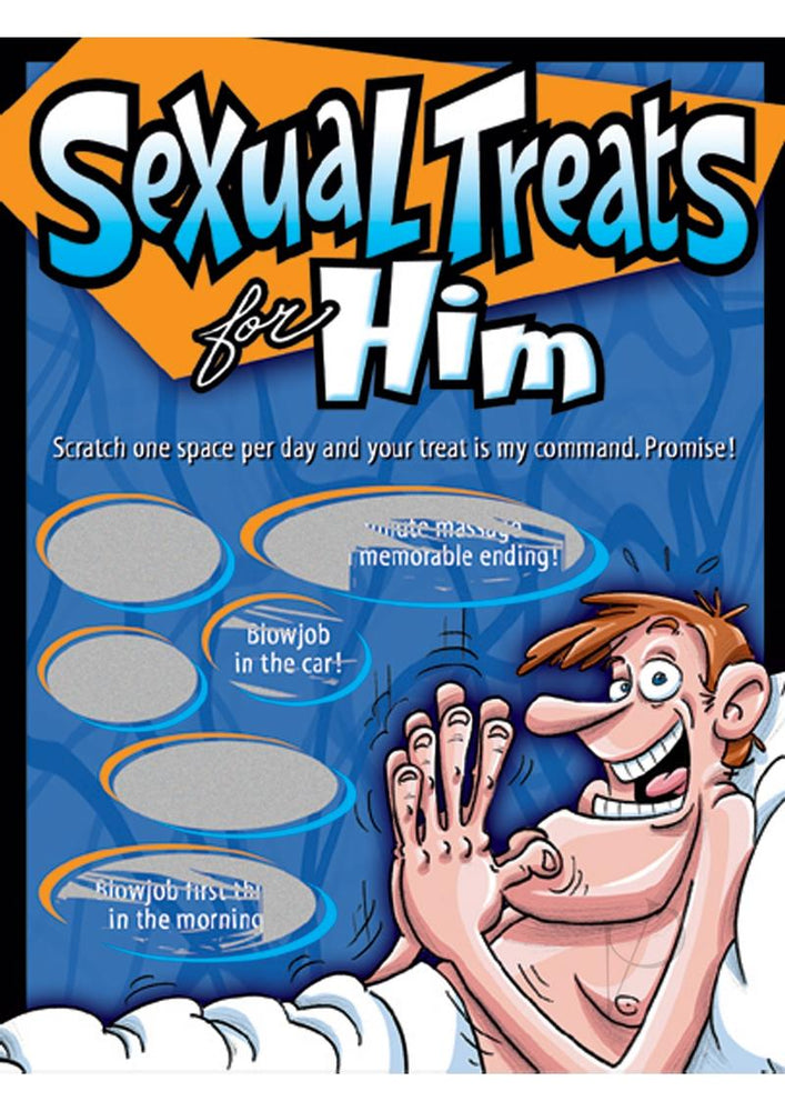 Scratcher Sex Treats For Him
