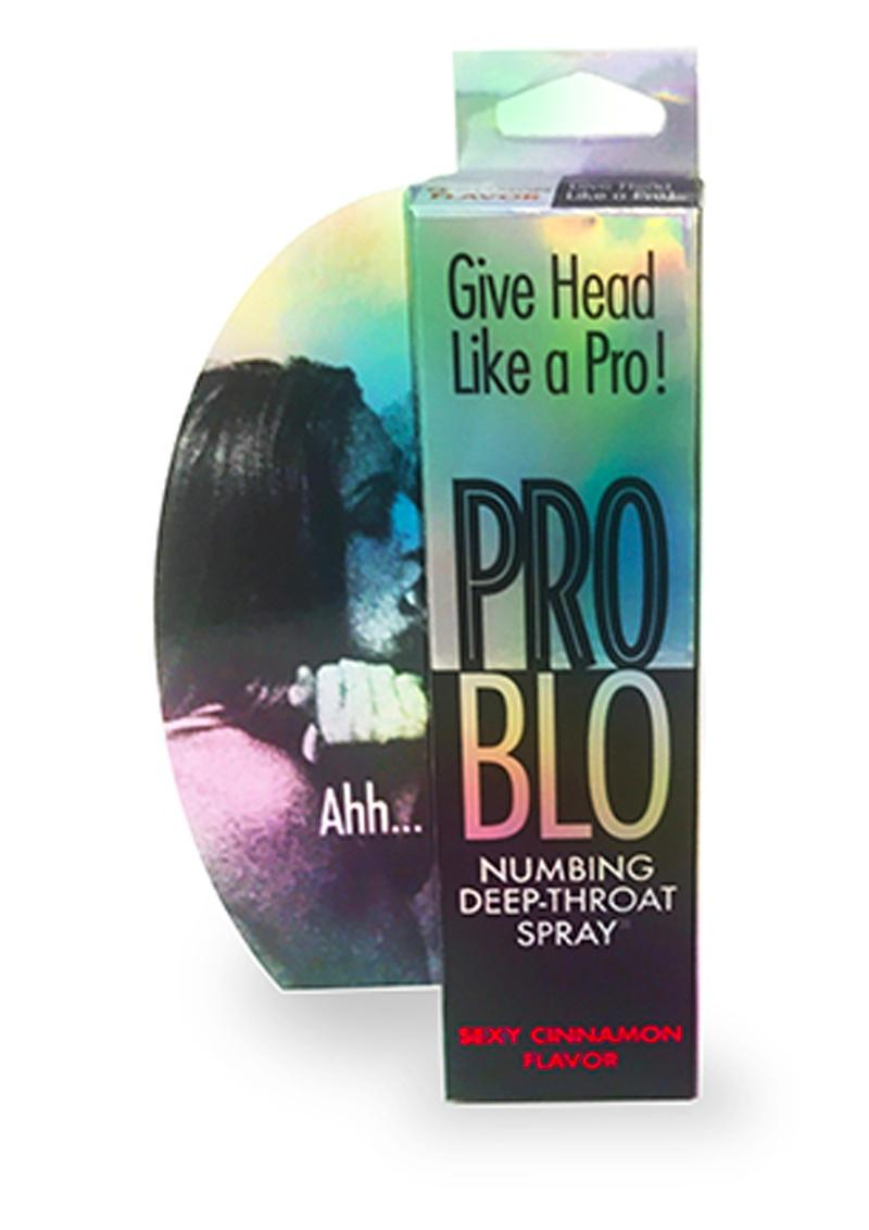Problo Numbing Spray Cinnamon