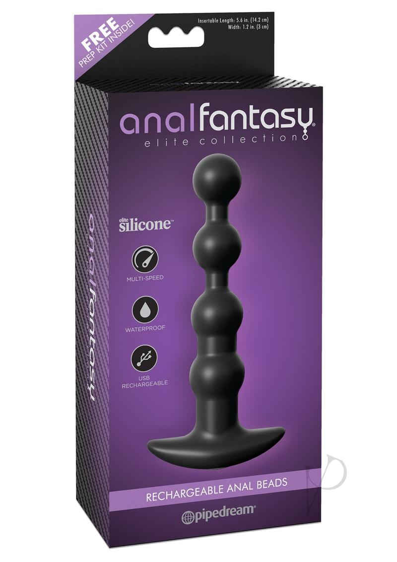Anal Fantasy Elite Recharge Anal Beads