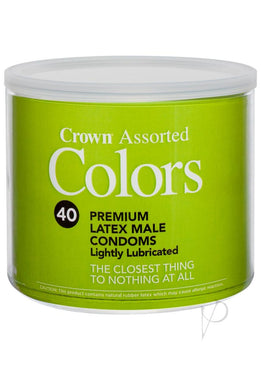 Crown Asst Colors 40/bowl