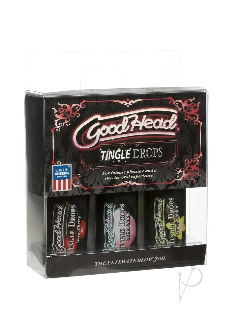 Goodhead Tingle Drops 3pk Asst Flavors
