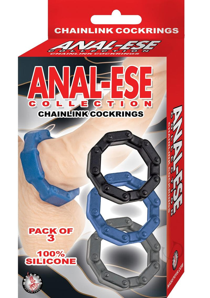 Anal Ese Coll Chainlink Cockrings