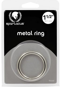 Metal Cock Ring 1.5 Inch Nickel