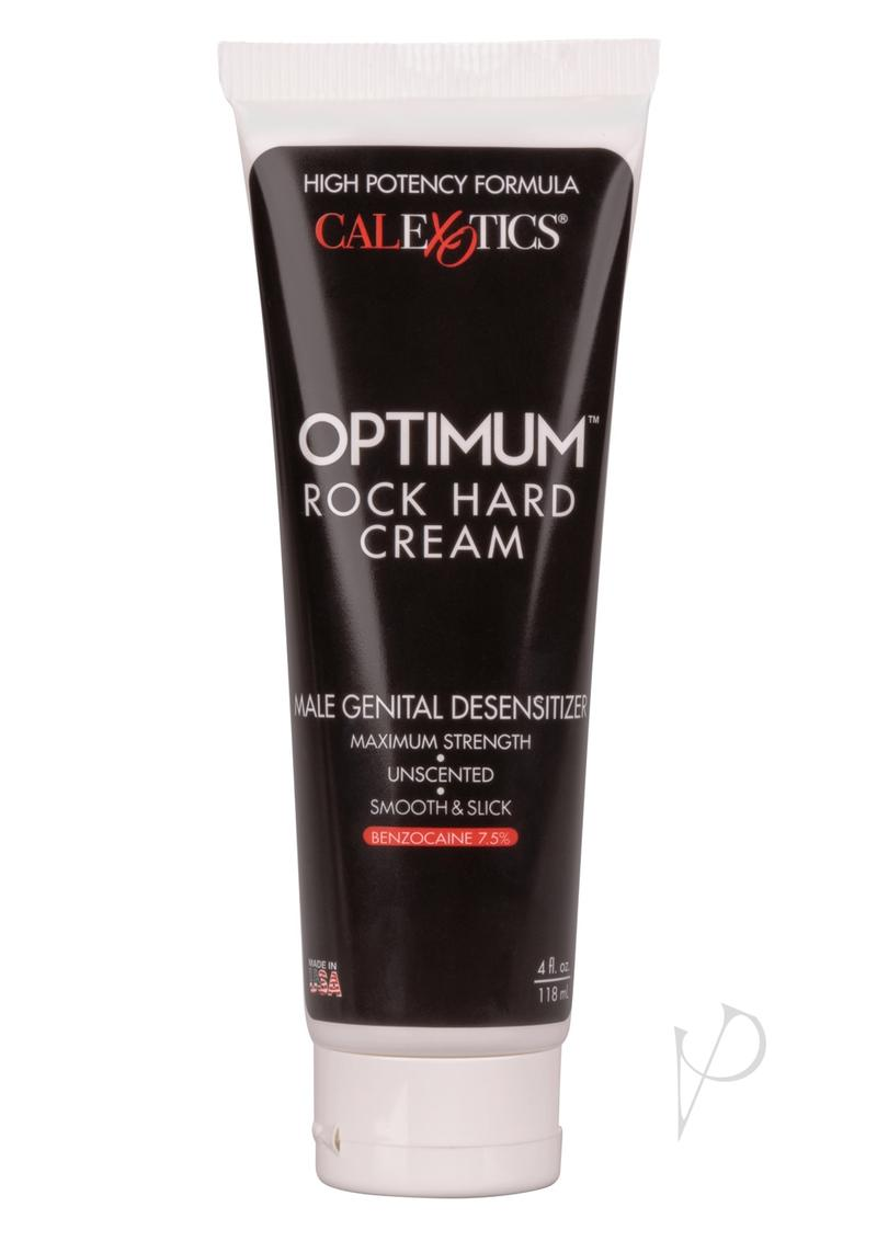 Optimum Rock Hard Cream 4oz Bulk