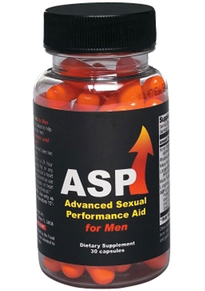 ASP Advanced Sexual Performance Aid For Men 30 Count Bottle