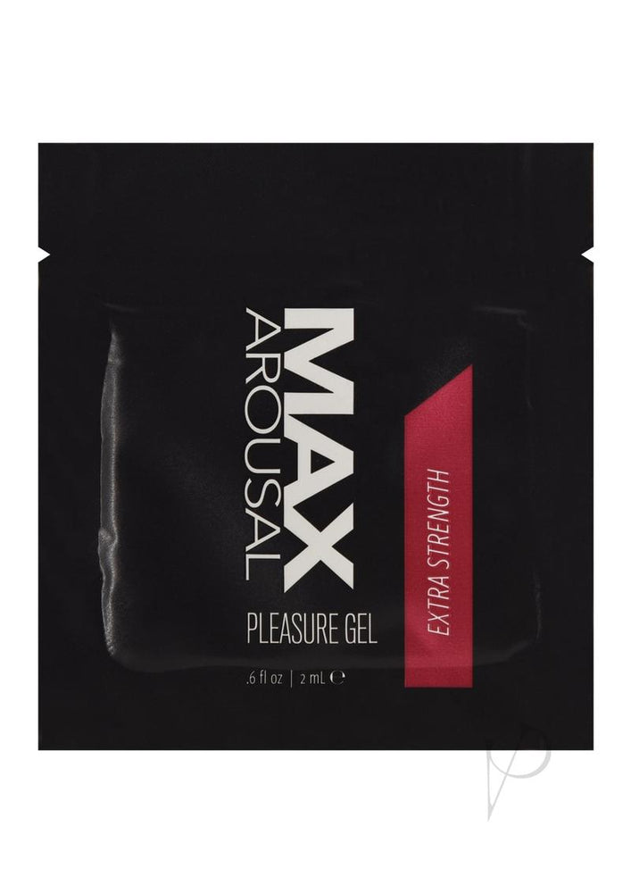 Max Arousal Gel Extr Strength Foil 24bag