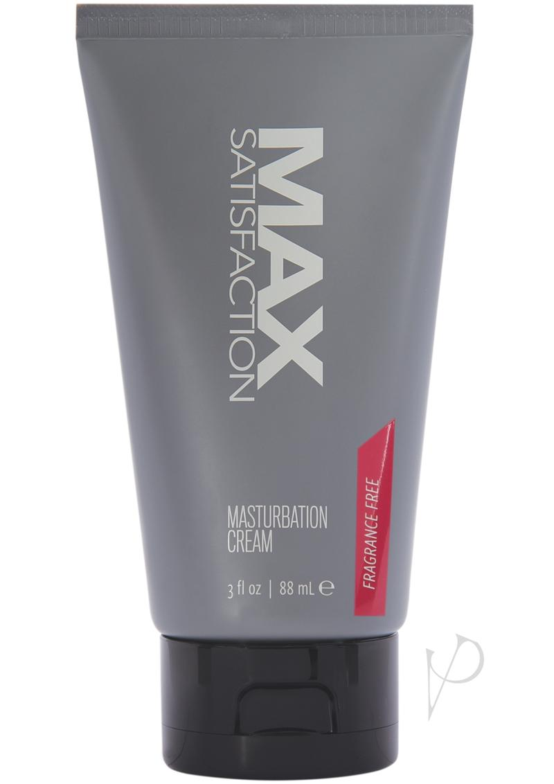 Max Satisfaction Masturbate Cream 3 Oz
