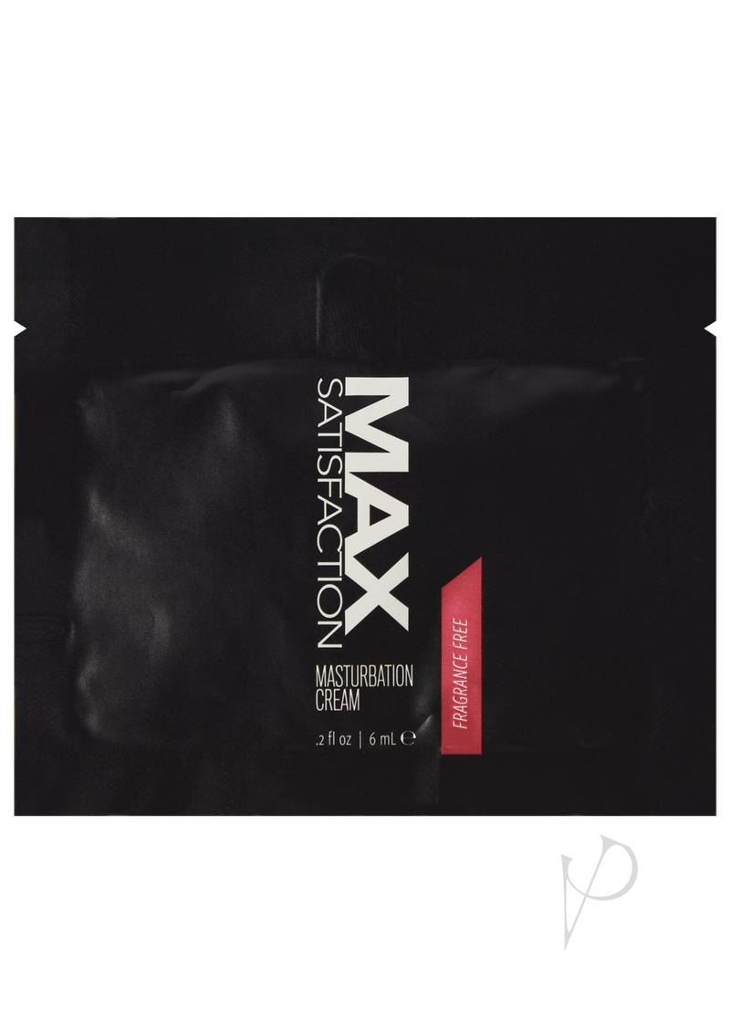 Max Satisfaction Masturbate Cream 24/bag