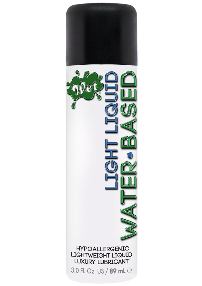 Wet Light Water Based Lubricant 3.0 Ounce