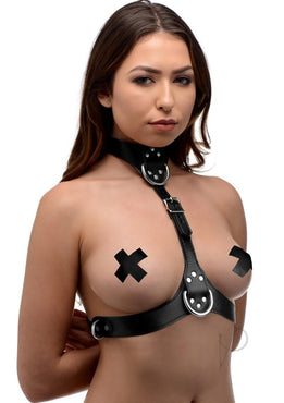 Strict Female Chest Harness Blk