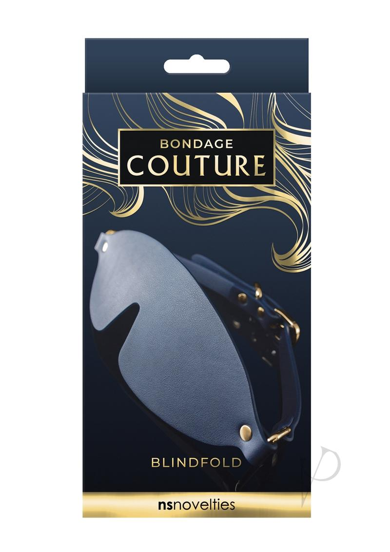Bondage Couture Blind Fold Blue