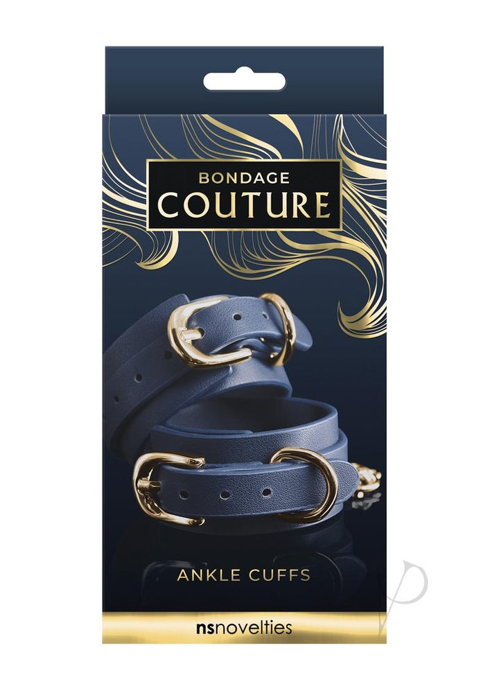 Bondage Couture Ankle Cuff Blue