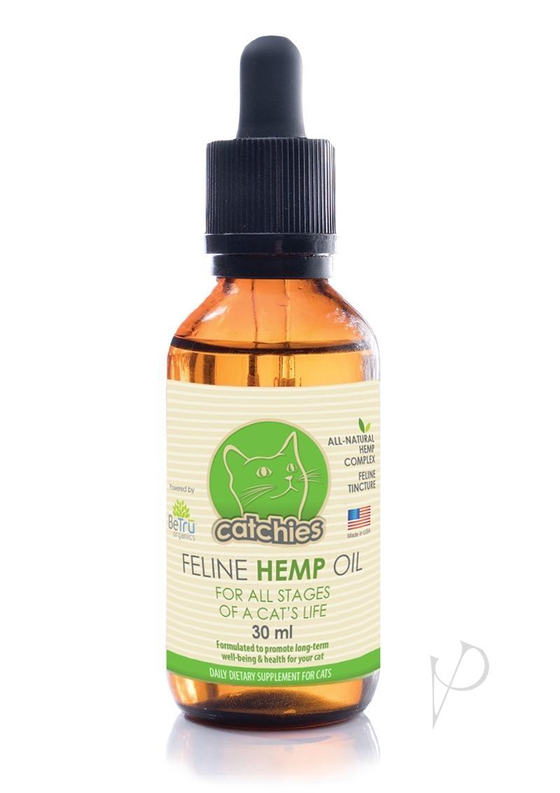 Bt Feline Hemp Oil 150mg Catnip 30ml