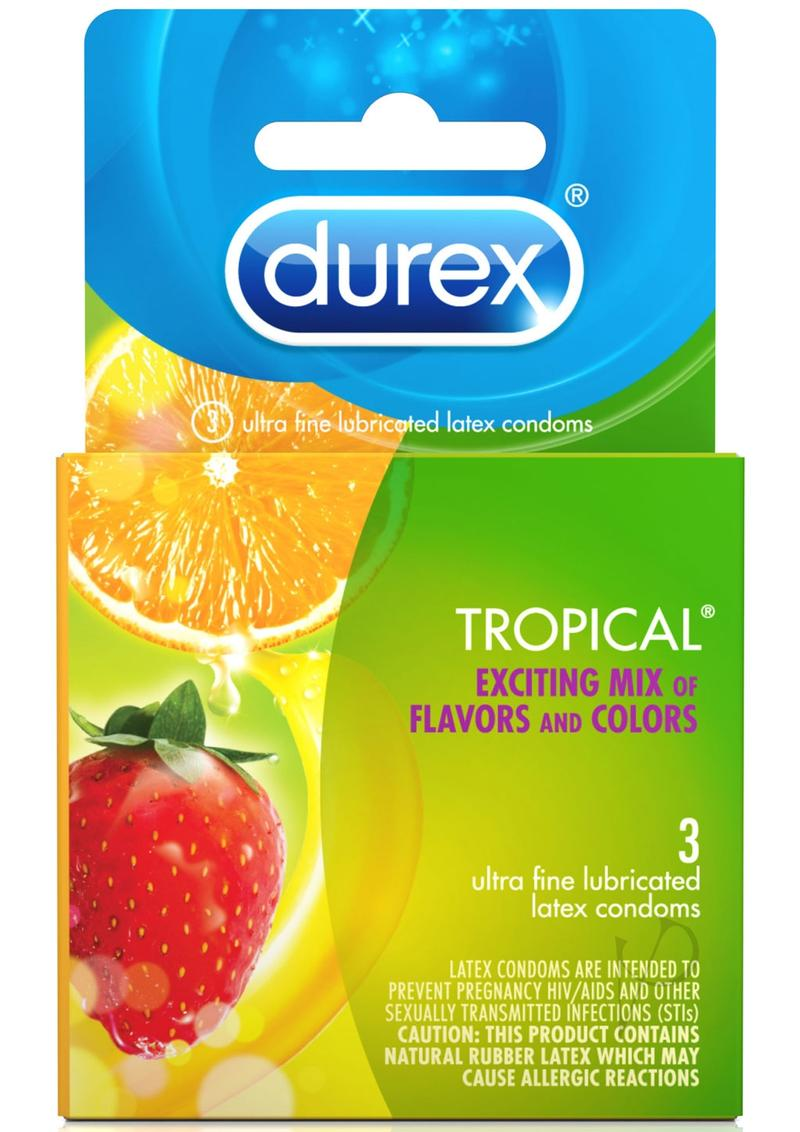 Durex Tropical 3 Pk