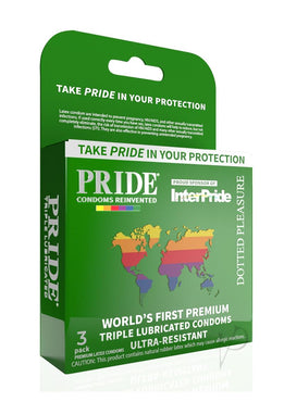 Pride Dotted Pleasure 3pk