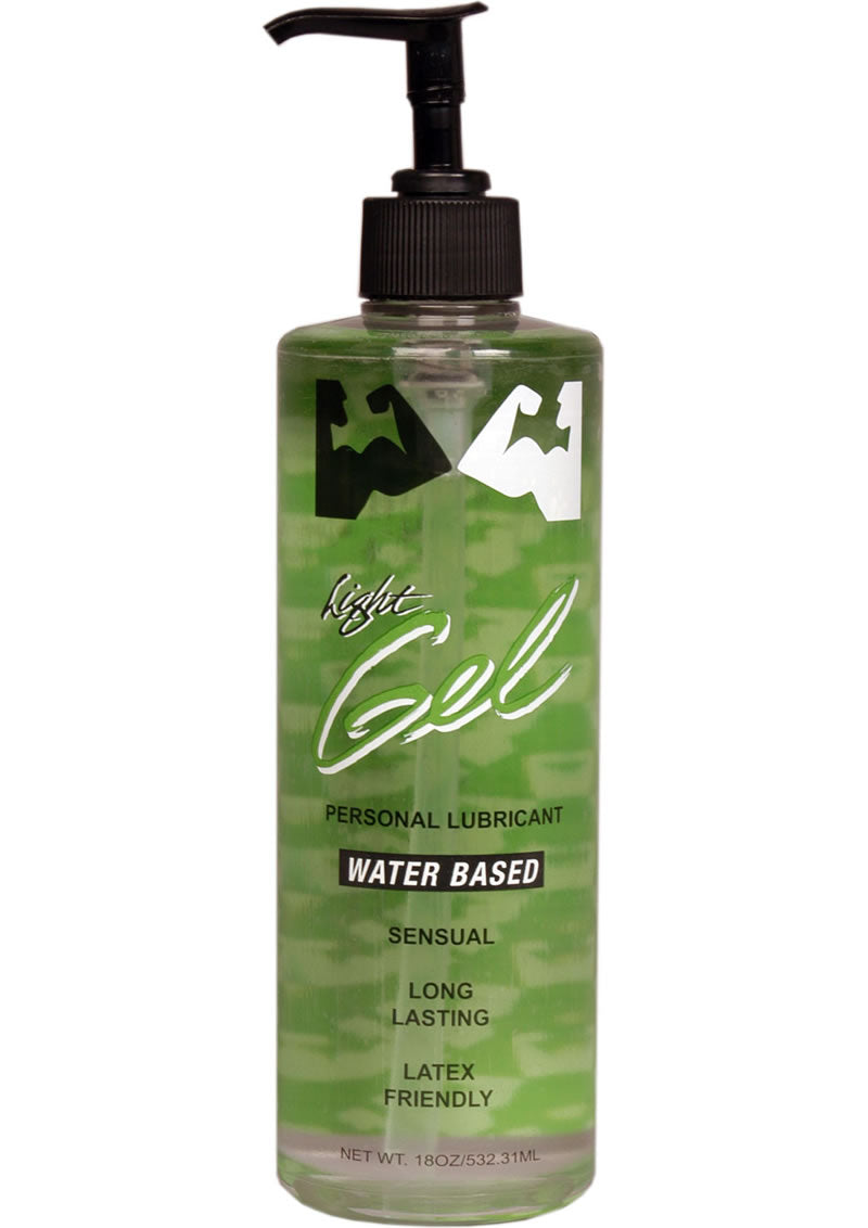 Elbow Grease H2O Water Based Gel Lubricant Light 16oz