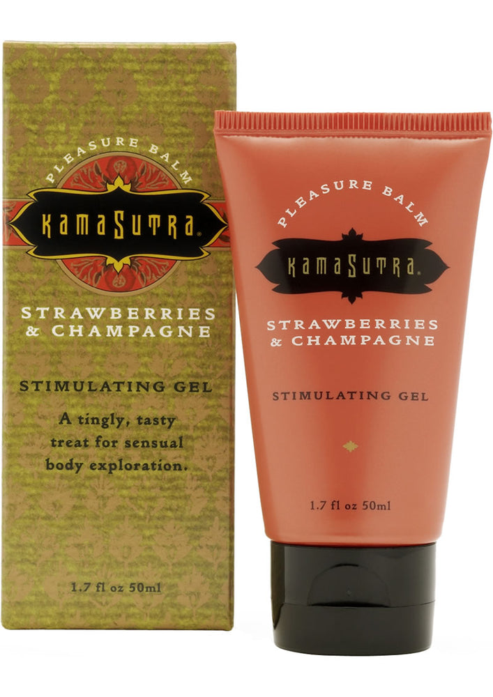 Stimulating Pleasure Balm Strawberries and Champagne 1.7 Ounce