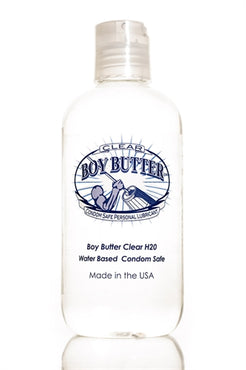 Boy Butter Clear H2O 8 Oz