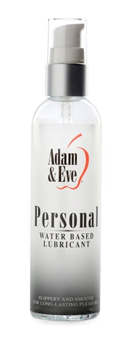 Adam and Eve Personal Water Based Lubricant 4 Oz