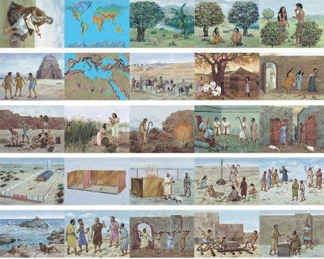 Bible Pictures - Laminated (Large)