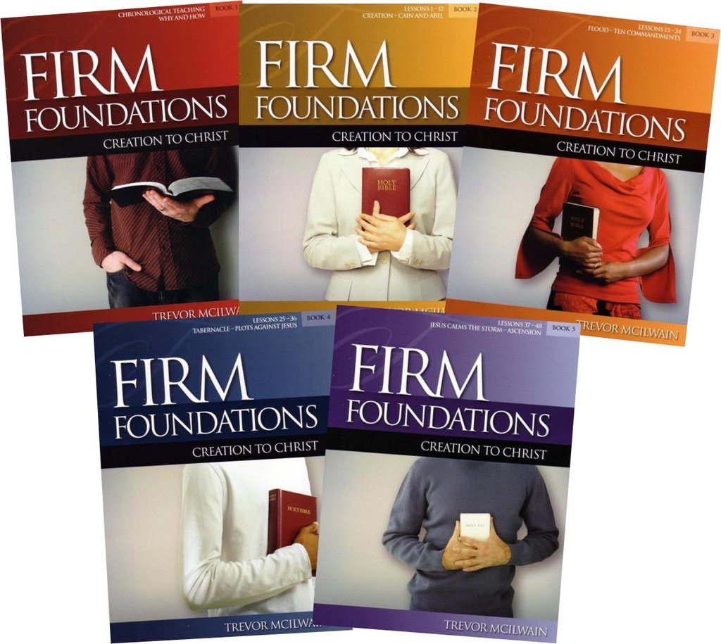 Firm Foundations: Creation to Christ Adult Set (Download)