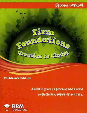 Children's Firm Foundations Workbook