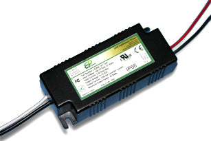 LD Series 20 Watt AC/DC LED Driver (Constant Voltage, UL Recognized, Legacy) - LiteControls