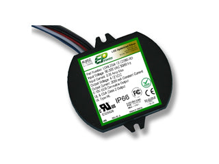 LDHL Series 25 Watt AC/DC LED Driver (Constant Current, UL Recognized, Lead-out from Bottom)