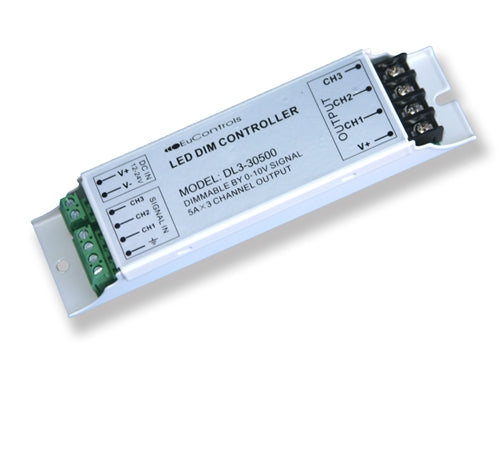 0–10V Dimming LED Controller (3 Channels – RGB)