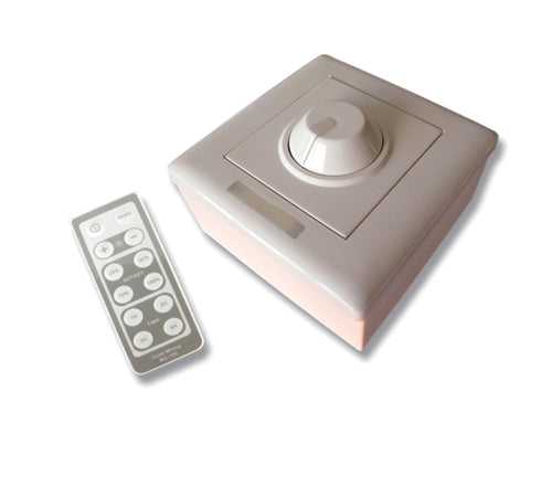 LED Controller w/ IR Remote (1 Channel, Wall Mount)