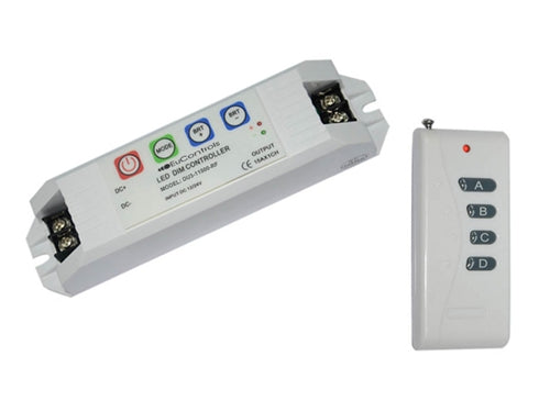 LED Controller w/ RF Remote (1 Channel)