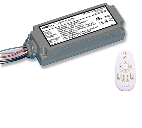 RF Wireless 9A Indoor Lighting Controller (Dimming, UL Listed) - LiteControls
