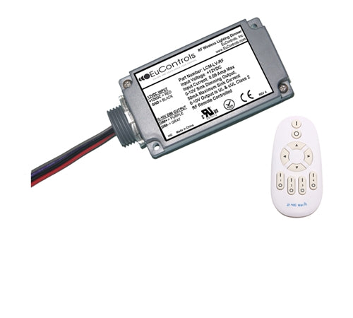 RF Wireless Lighting Controller (Low Voltage, Dimming, UL Recognized)