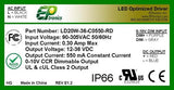 LD Series 20 Watt AC/DC LED Driver (Constant Voltage, UL Recognized)