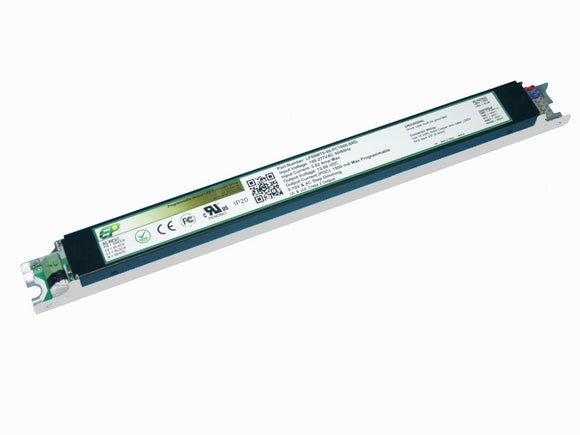 LP Series 55 Watt AC/DC LED Driver (Flicker Free, Programmable, Constant Current, Dimming Options, UL Recognized, T5 Metal Case)