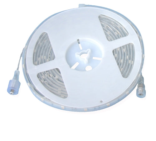Warm White LED Strip (12V, Outdoor, Single Density, 16'4