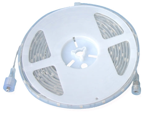 Warm White LED Strip (24V, Outdoor, Single Density, 16'4