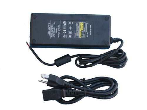 120W 12V AC/DC Power Supply (UL Listed)