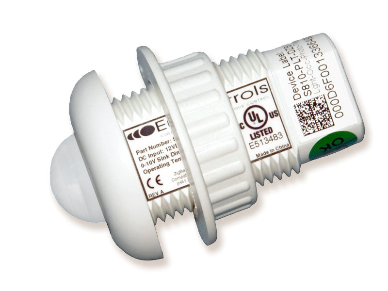 Zigbee Compatible Ceiling Multi-Sensor (Low Voltage, Dimming, UL Listed) - LiteControls