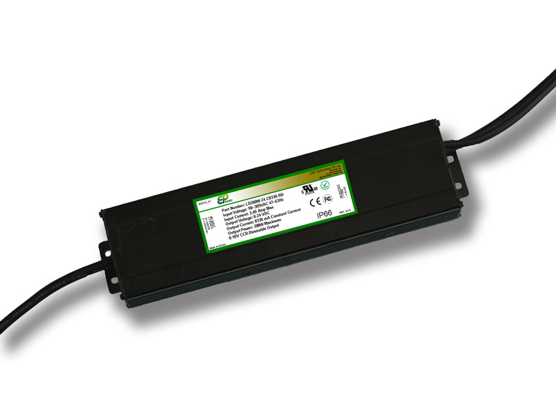 LD Series 200 Watt AC/DC LED Driver (Constant Voltage, UL Recognized, Legacy) - LiteControls