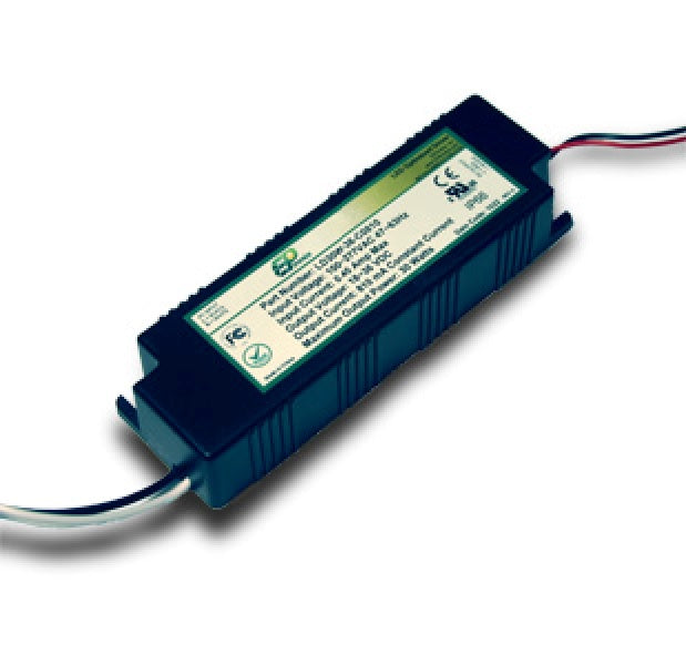LNP Series 30 Watt AC/DC LED Driver (Constant Current, Dimming Options, UL Listed Class P, Low Cost)