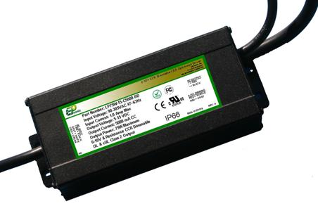 LP Series 75 Watt AC/DC LED Driver (Constant Voltage, UL Recognized, Locked Voltage) - LiteControls