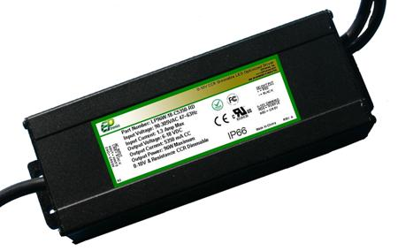LP Series 96 Watt AC/DC LED Driver (Constant Voltage, UL Recognized, Locked Voltage)