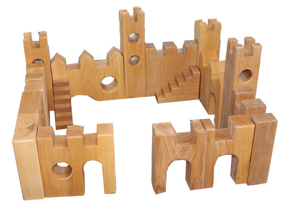 Bauspiel Castle Set - 16pcs