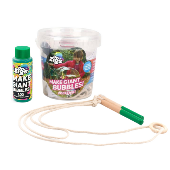 Giant Bubble Pocket Kit