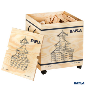 Kapla 1000 in Wooden Chest