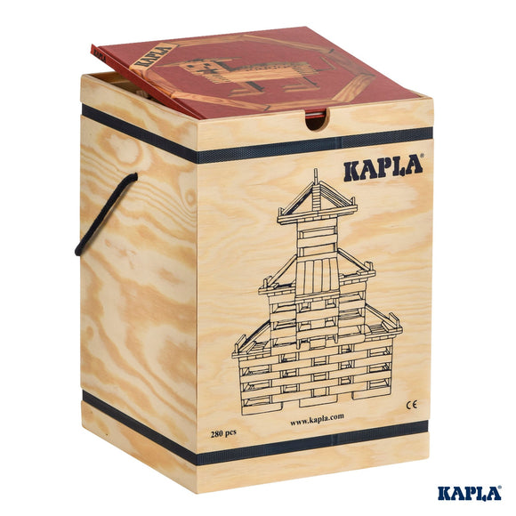 Kapla 280 in Wooden Box with Art Book