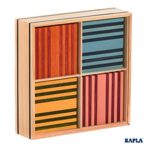 Kapla Octocolour in Wooden Box