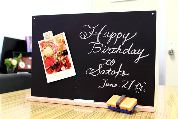 Kitpas Magnetic Chalkboard Set - A3 [Pre-Order ETA Sep 25th]
