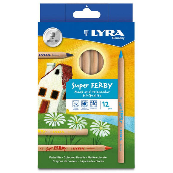 LYRA Super Ferby® Coloured Pencil (12 Colours)